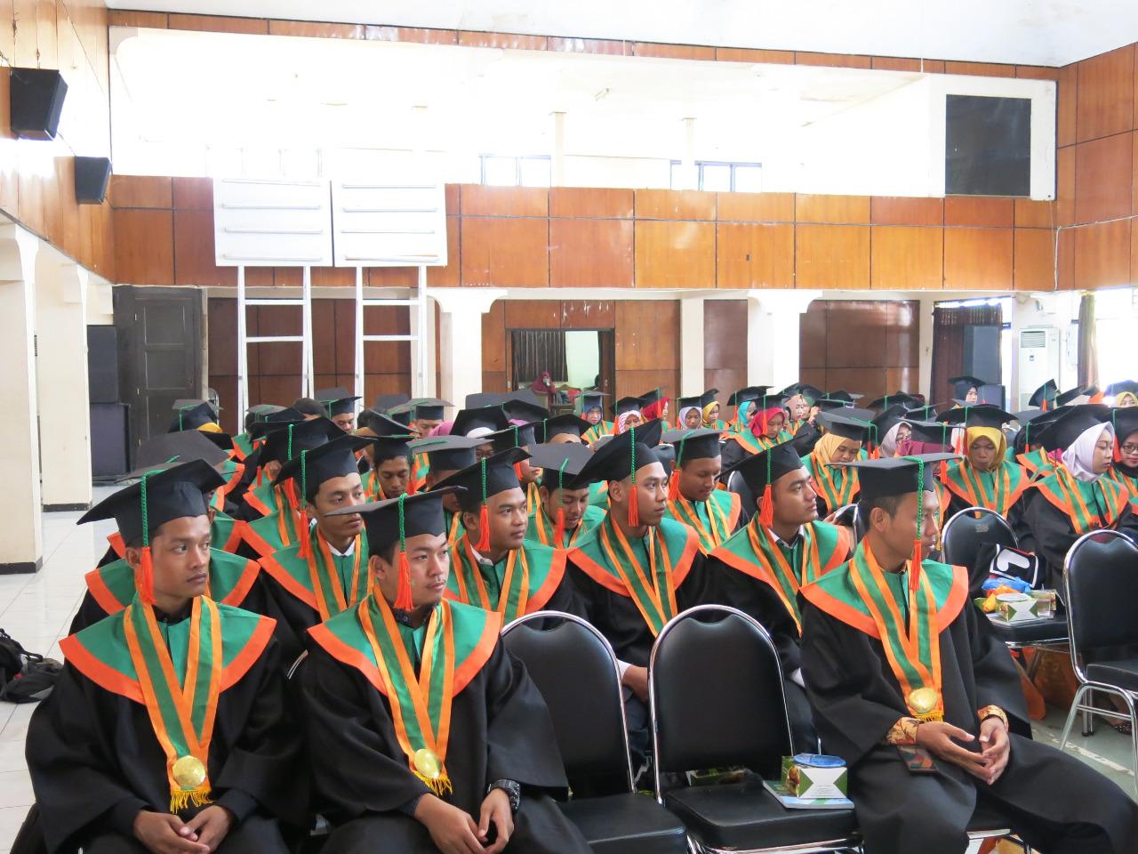 Pelepasan Wisudawan/Wisudawati Fakultas Ekonomi dan Bisnis Islam IAIN Salatiga